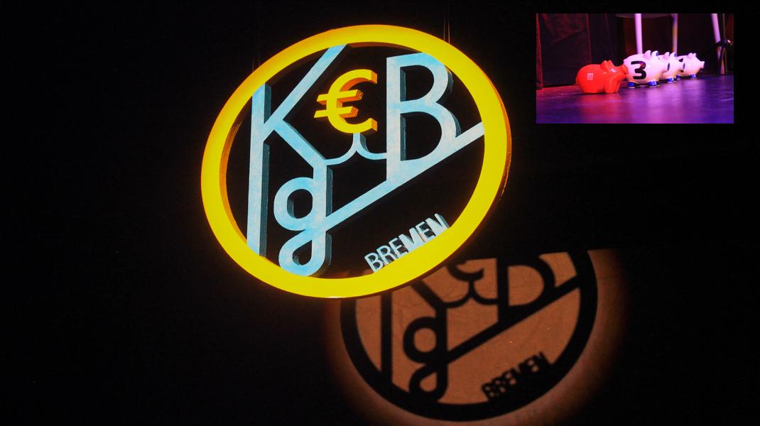Auftritt bei Kunst gegen Bares Bremen | 19. Mai 2016