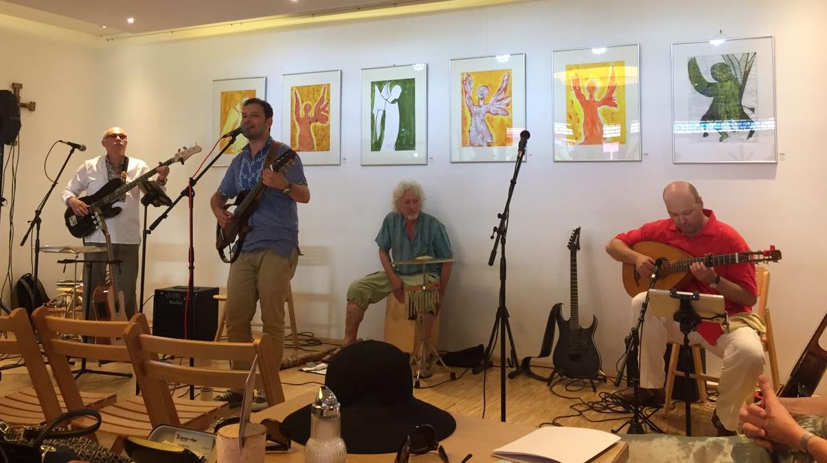 Auftritt bei der Fête de la musique 2017